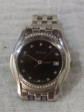 Relógio Gucci Feminino Original Com Brilhantes