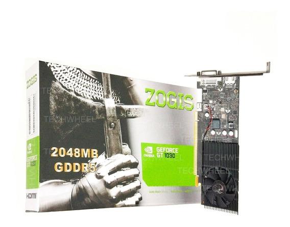 Placa De Video Zogis Gt1030 2gb Ddr5