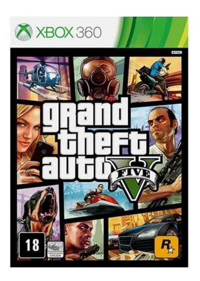 Gta Xbox 360 - Mídia Física + Brinde
