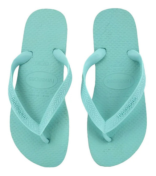 Ojotas Havaianas Color Originales Ice Blue T 35 Al 40 Unisex