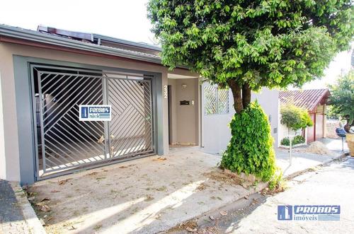 Casa Com 3 Dormitórios À Venda, 174 M² Por R$ 600.000,00 - Vila Sfeir - Indaiatuba/sp - Ca1283