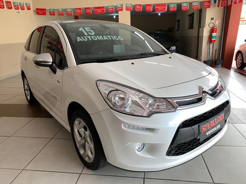 Citroen C3 1.6 Vti Exclusive Flex Aut. 2014/2015 Branco Per