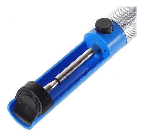 Desoldador A Piston Chupador De Estaño Metálico 185mm.
