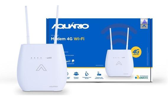 Modem 4g Wi-fi Internet 4g 3g Md-4000 Com Cabo E Adaptador