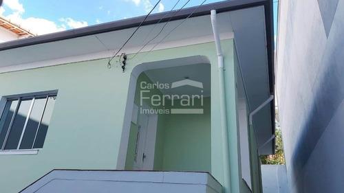 Imagem 1 de 15 de Casa Térrea Na Água Fria Com 2 Dormitórios Sendo 1 Suíte.  - Cf33341