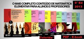 Fundamentos Da Matemática Elementar 11 Volumes (colorida)*
