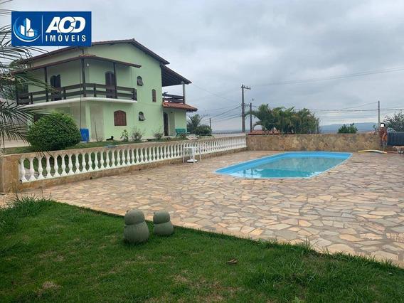 Chácara Com 3 Dormitórios À Venda, 1050 M² Por R$ 550.000,00 - Copaco - Arujá/sp - Ch0045