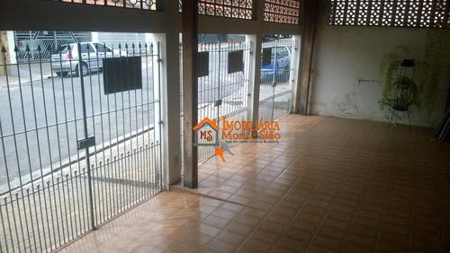 Imagem 1 de 30 de Casa Com 5 Dormitórios À Venda, 176 M² Por R$ 477.000,00 - Parque Continental I - Guarulhos/sp - Ca0431