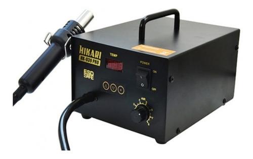Estação Ar Profissional Esd Digital Hikari Hk-939 Pro