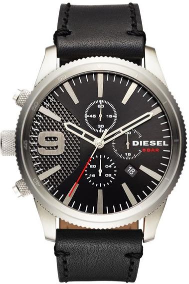 Relógio Diesel Masculino Rasp Chrono Dz4444/0pn