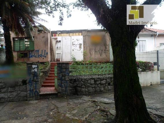 Imobiliária Madri Imóveis Terreno City Lapa - Te0009