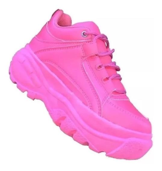 Tênis Sneaker Buffalo Feminino Vicerinne Plataforma 40% Off