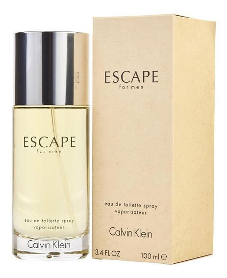 Perfume Escape By Calvin Klein Masculino Edt 100ml 12x Frete Gratis Original