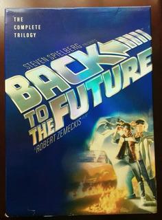 Volver Al Futuro Trilogía Dvd R1 Primera Edición (2002)