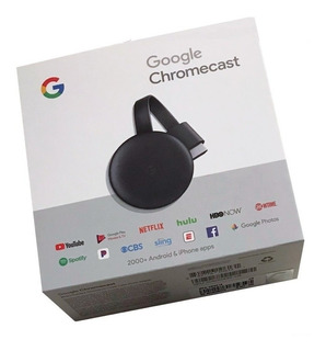 Google Chromecast 3 Gen. Smart Tv Android Hdmi 1080p Adapter