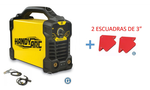 Soldadora Inverter Esab Conarco Handy Arc 162i Hasta 3,20mm