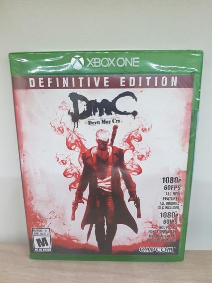 Dmc Devil May Cry Definitive Edition Xbox One Lacrado Física