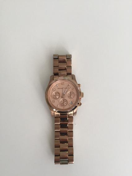 Relógio Michael Kors Ouro Rosa Mk 5128 Original