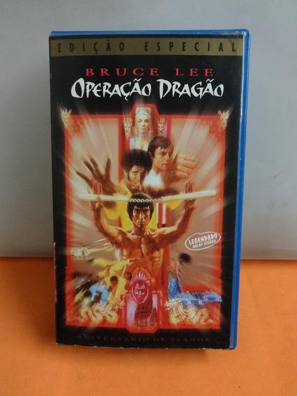 Fita Vhs Original Bruce Lee Operação Dragão