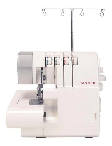 Máquina de coser overlock Singer 14SH754 portable blanca 220V