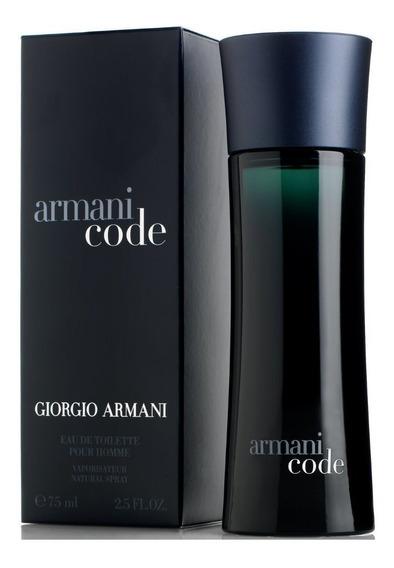Armani Code 75ml Edt Original