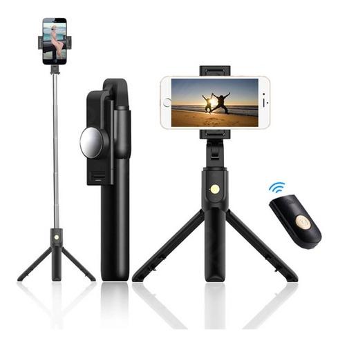 Imagen 1 de 9 de Soporte Tripode Celular Universal Selfies Stick Tripie Flash