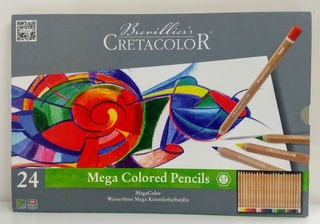 Creatacolor sanguina seco Lápiz Suave 3pk medio lápiz de color rojo//marrón