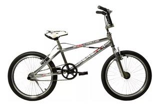 Bicicleta Bmx Peretti Extreme Ii 2 R20fluo Cromo 48rayos+linga
