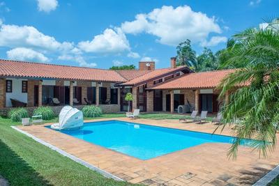 Casa Com 5 Dormitórios À Venda, 1000 M² Por R$ 5.000.000 - Chácaras Residenciais Santa Maria - Votorantim/sp - Ca6272