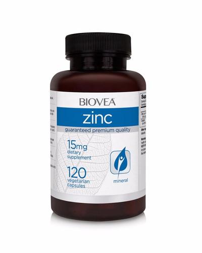 Zinco Biovea (arginato E Glicinato De Zinco15mg) - 120 Caps