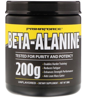 Beta Alanina 200g Prima Force 100 Doses(2grs) Importado Usa