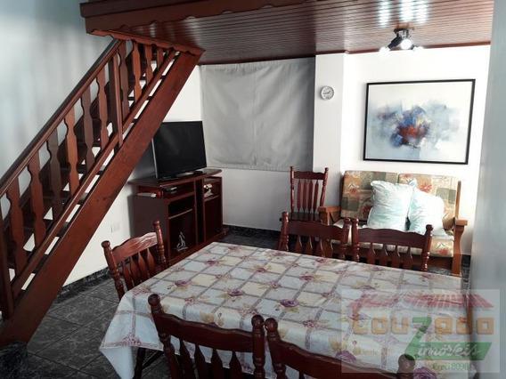 Apartamento Para Venda Em Peruíbe, Centro, 1 Dormitório, 1 Suíte, 1 Banheiro - 2444