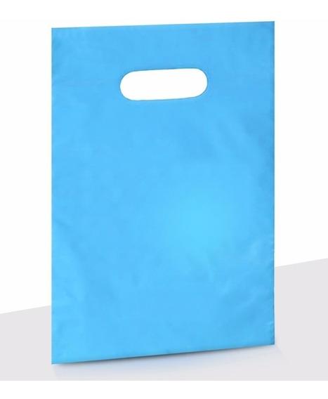 Saco Plástico Transp. E Colorido 25x35 12 M C/500