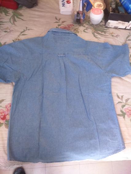 Camisa Mezclilla Hombre Seminueva****