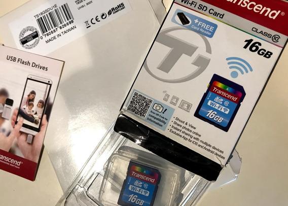 Cartão Sd Com Wifi 16gb Classe 10