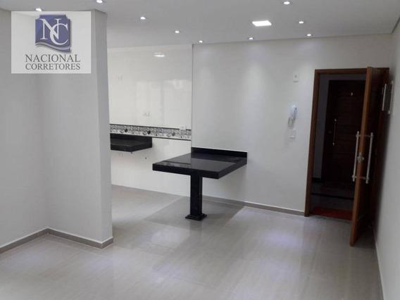 Apartamento À Venda, 68 M² Por R$ 295.000,00 - Vila Metalúrgica - Santo André/sp - Ap7233