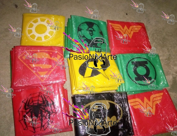 Capa Friselina Superheroes Batman Mujer Superman Estampx40u