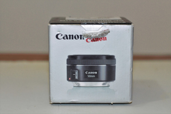 Objetiva Canon Ef 50 Mm 1.8