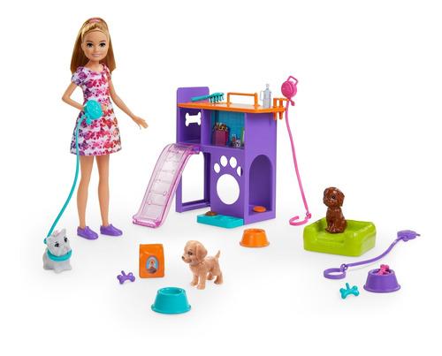 Barbie Family Mascotas De Stacie Muñeca Para Niñas