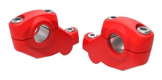 Adaptador Riser P/ Guidão Oxxy 31,5mm 31mm Verm Crf 230 250