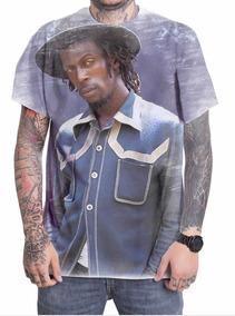 5b48bf5037 Camiseta Camisa Personalizada Cantor Gregory Isaacs Reggae 5