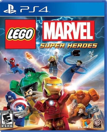 Imagen 1 de 5 de Lego Marvel Super Heroes;juego Ps4 Fisico/ Mipowerdestiny