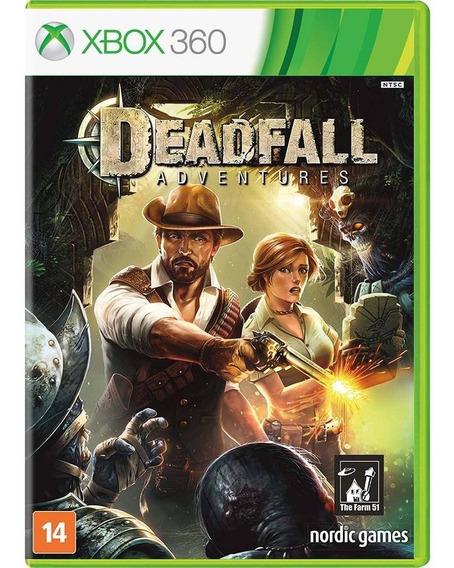 Deadfall Adventures Xbox 360 Original Lacrado Mídia Física