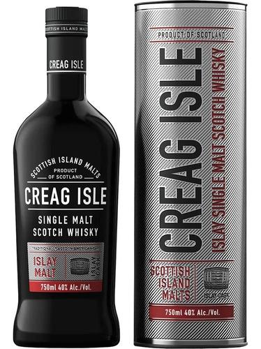 Imagen 1 de 3 de Whisky Creag Isle 750ml Islay Single Malt Scotch