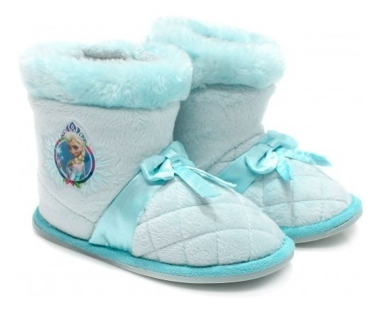 Pantufa Infantil Bota Princesas Frozen Bela Cinderela Ricsen