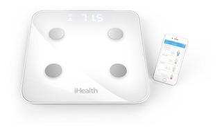Balança Ihealth Core Bioimpedância Wi-fi Incoterm