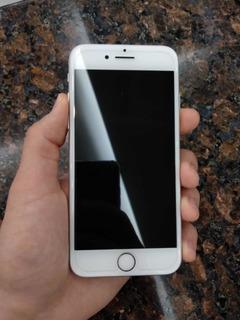 iPhone 7 256gb Silver - 1 Ano E Meio De Uso