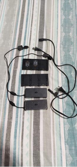 Carregador Hub Para 03 Baterias Dji Spark