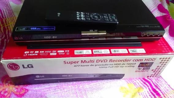 Gravador Dvd Rh397h Com Hd Interno 160gb