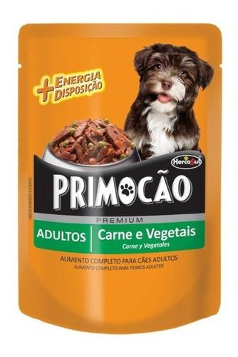 Pouch Perro Primocao Adulto Carne Y Veg. 100grs (caja X12
